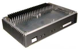 die cast box for an amplifier